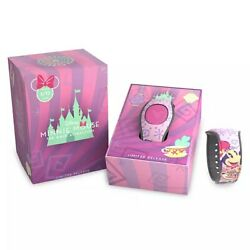 New Disney Minnie Mouse Main Attraction Mad Hatter Tea Cups Magicband Lr 3/12