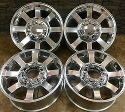 20 Ford F250 F350 Style Replacement Rims Wheels Super Duty Polished 3693 Set 4