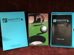 Retired Houston Llew Spiritiles Glass Copper Life Lesson 119 Don January Golf