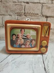 Vintage 1999 Brady Bunch Metal Lunch Box Collectible Tin By Vandor 69269