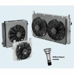 Thermal Transfer 258325 Thermal Transferwith Fan 3-27 Gpm,12 Volt Motor,sae 12