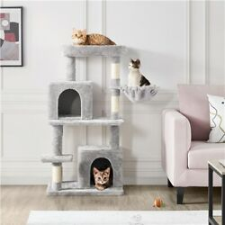 Multilevel Cat Tree Cat Tower Scratching Post Condo Perch for Play amp; Rest 46.5in