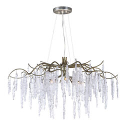 Maxim 26284icsg Willow 8-light 35 Wide Silver Gold Chandelier