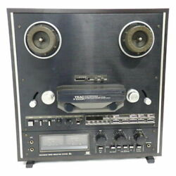 Teac X-1000r Black Reel To Reel Tape Deck Very Good Condition
