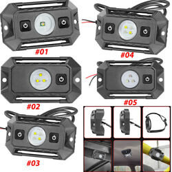 1/2/3/4 X Led Dome Light W/switch Universal Roll Bar Mount Car Reading Courtesy