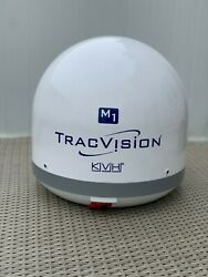 Kvh Tracvision M1 Dx - Brand New Satalite Dome For Boats