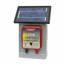 Parmak Dfspli Electric Fence Charger Solar Pak 6 Low Impedance Battery Operated