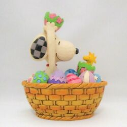 Snoopy And Woodstock Peanuts Jim Shore Figure An Easter Surprise Japan Limited
