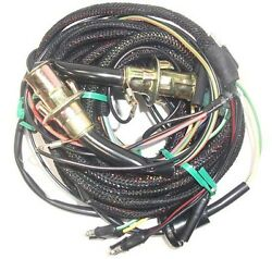 67 Mustang Tail Light Wiring Harness, W/ Low Fuel Lamp And Sockets, Fastback/coupe