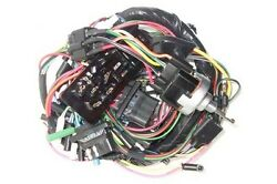 New 1963 Falcon Complete Under Dash Wiring Harness W/ Fuse Box For 2 Speed Wiper