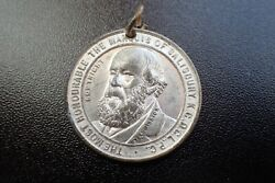 The Most Honourable The Marquis Of Salisbury Secretary For Foreign Affairs Medal