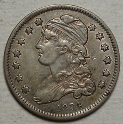 1834 Capped Bust Quarter High Grade Circulated Coin Lot No. 0626-01