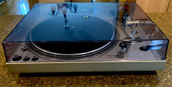 Technics Sl-1600 Turntable Auto Direct Drive Very Good Conditionserviced