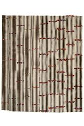 Large Vintage Hemp Kilim Rug With Tulu Detail 9and0393 X 10and03911