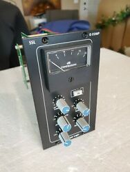 Ssl Solid State Logic G Comp 500 Series Stereo Bus Compressor