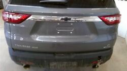 18 19 20 Chevy Traverse Rear Trunk Lid Hatch / Tailgate Grey Paint Code=464c