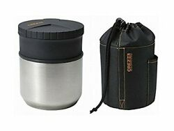 Asuberu Crez Hl Lunchbox Stainless Thermos Hot Bento F/s W/tracking Japan N