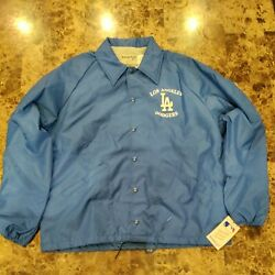 Vintage Swingster La Dodgers Coach Jacket New With Tag Size L Made In Usa