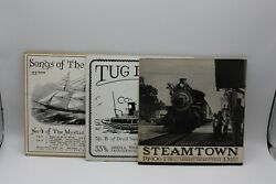 Tug Boats Capt Nickerson-songs Of The Clippers-steamtown Railroad Sounds Lot