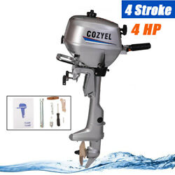 4-stroke Outboard Motor Water Cooling System 2.95kw Output 75cc Boat Engine Tcl