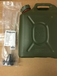 New Scepter Olive Drab Military Fuel Can With New Spout Mfc 5 Gallon / 20 L