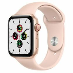 🔥apple Watch Series Se 44mm Gold Case Band Wifi+cell With 3 Months Warranty🔥