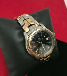 Tag Heuer Link 200m Quartz Watch Wt1154 Stainless Steel And 18k Gold