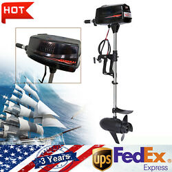 7hp Outboard Motor Electric Brushless Fishing Boat Engine Tiller Control 1800w