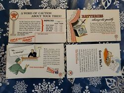 Vintage Texaco Postcards Gas Station Advertising Lot Of 70 New Old Stock