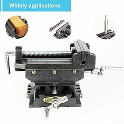 6 Inch Xy Compound Drill Press Vise Heavy Duty Cross Slide Vise Solid Constructi