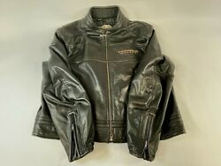 Harley Davidson Menand039s 105th Anniversary Winged Bands Leather Jacket Size 3xl
