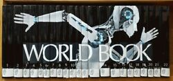 2018 World Book Encyclopedia Complete 22 Volumes Ex-library Set