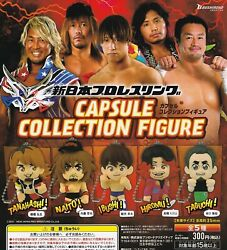 New Japan Pro Wrestling Capsule Collection Figure Complete Set 5 Types Gashapon