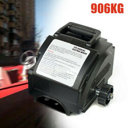 Portable 12v Electric Winch Power Winches Auto Truck Towing Hauling Tool 2000lb