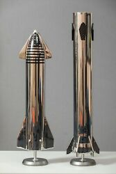 Spacecraft Handmade Launch Vehicle Spacex Superheavy+ Starship Scale 1/72