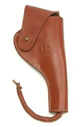 Us Military Leather Holster Colt And Smith And Wesson 1917 Sandw 6137-mp