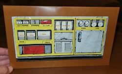 Vintage Barbie Loves Mcdonalds 1982 Playset Replacement Counter Wall