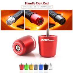 Cnc Ep Weight Handle Bar Grips Ends Sliders Plugs For Suzuki Sv650 Sv 650