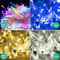 Fairy String Lights 50m 500 Led Clear Cable For Christmas Tree Indoor And Outdoor