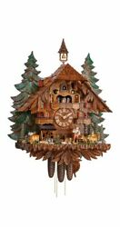 Cuckoo Clock Of The Year 2020 Foresterand039s House Ka 3748/8 Ex New