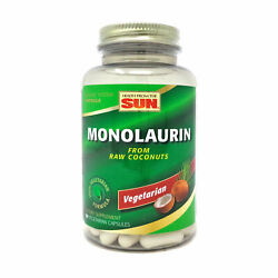 Clearance Monolaurin By Health From The Sun - 90 Capsules Expires 3/1/2022