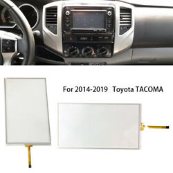 Touch Screen Radio Glass 6.1in Digitizer 8-pin Fit For 2014-19 Toyota Tacoma