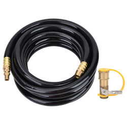 Rv Connector 20-foot Hose Quick Connector Accessory Hose For Low Pressure Grills