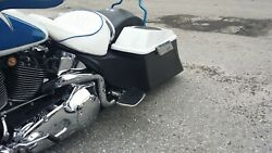 Stretched Side Covers Fl Harley Davidson Softail Heritage Motorcycle