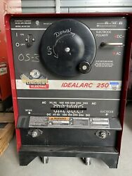 Lincoln Idealarc 250 Ac/dc Stick Welder, 1 Phase, K1053-8, Can Ship