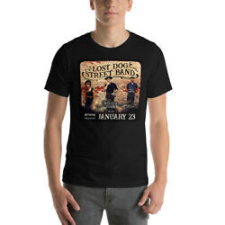 Lost Dog Street Band T-shirt Alt Country Unisex Heavy Cotton Tee Shirt