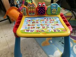 Vtech Touch And Learn Activity Desk Deluxe And 2 Expansion Packs