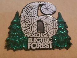Grassroots California 2019 Electric Forest Festival 6itf Six In The Forest Pin