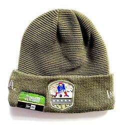 Nwt New Era Salute To Service Military New England Patriots Winter Hat Beanie