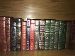 Franklin Library Mixed Lot Some Are Leather/some Have Damage 16 Volumes Books